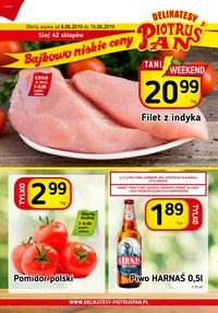 Gazetka promocyjna Piotruś Pan - Gazetka promocyjna - ważna do 15-06-2019
