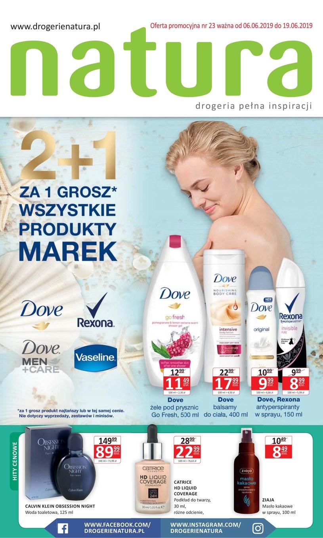 Gazetka promocyjna Drogerie Natura - ważna od 06. 06. 2019 do 19. 06. 2019