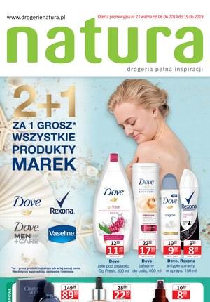 Gazetka promocyjna Drogerie Natura, ważna od 06.06.2019 do 19.06.2019.