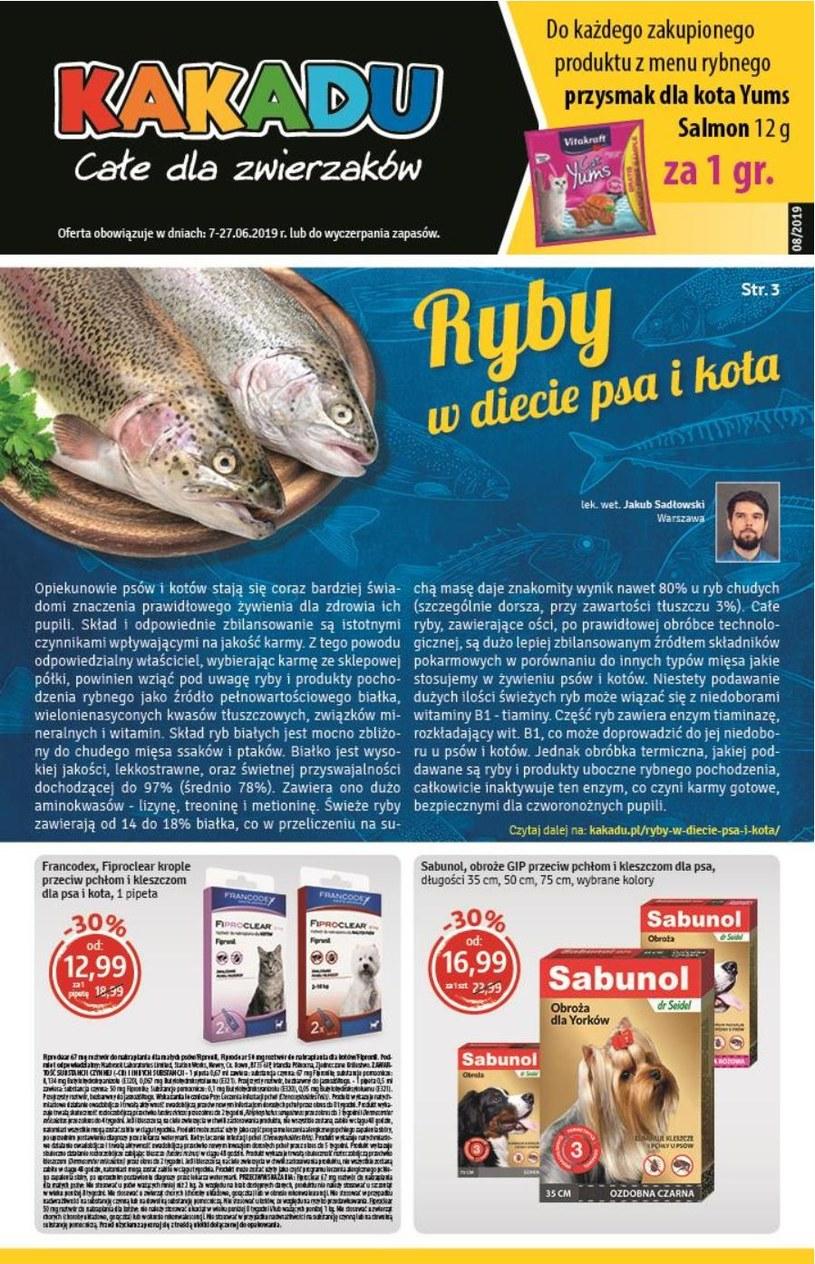 Gazetka promocyjna Kakadu - ważna od 07. 06. 2019 do 27. 06. 2019