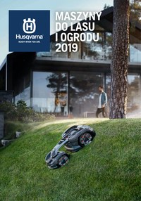 Gazetka promocyjna Husqvarna - Maszyny do lasu i ogrodu 2019 - ważna do 31-12-2019
