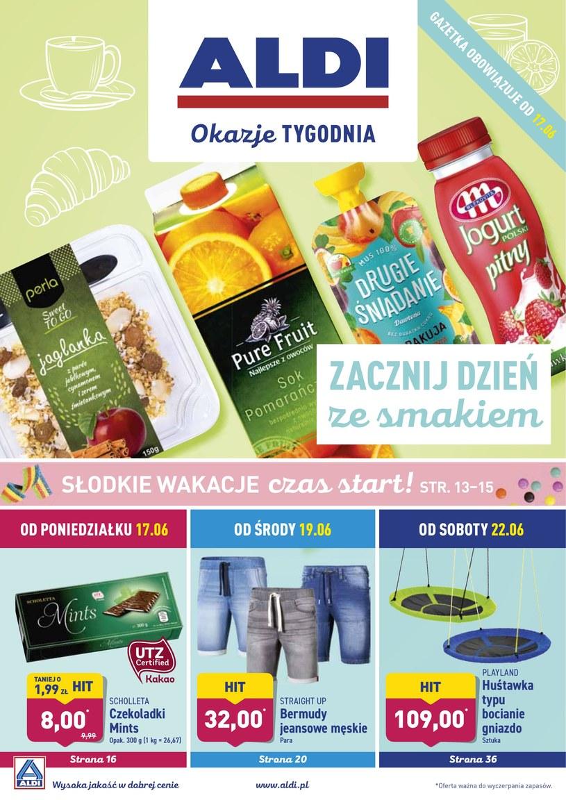 Gazetka promocyjna Aldi - ważna od 17. 06. 2019 do 22. 06. 2019