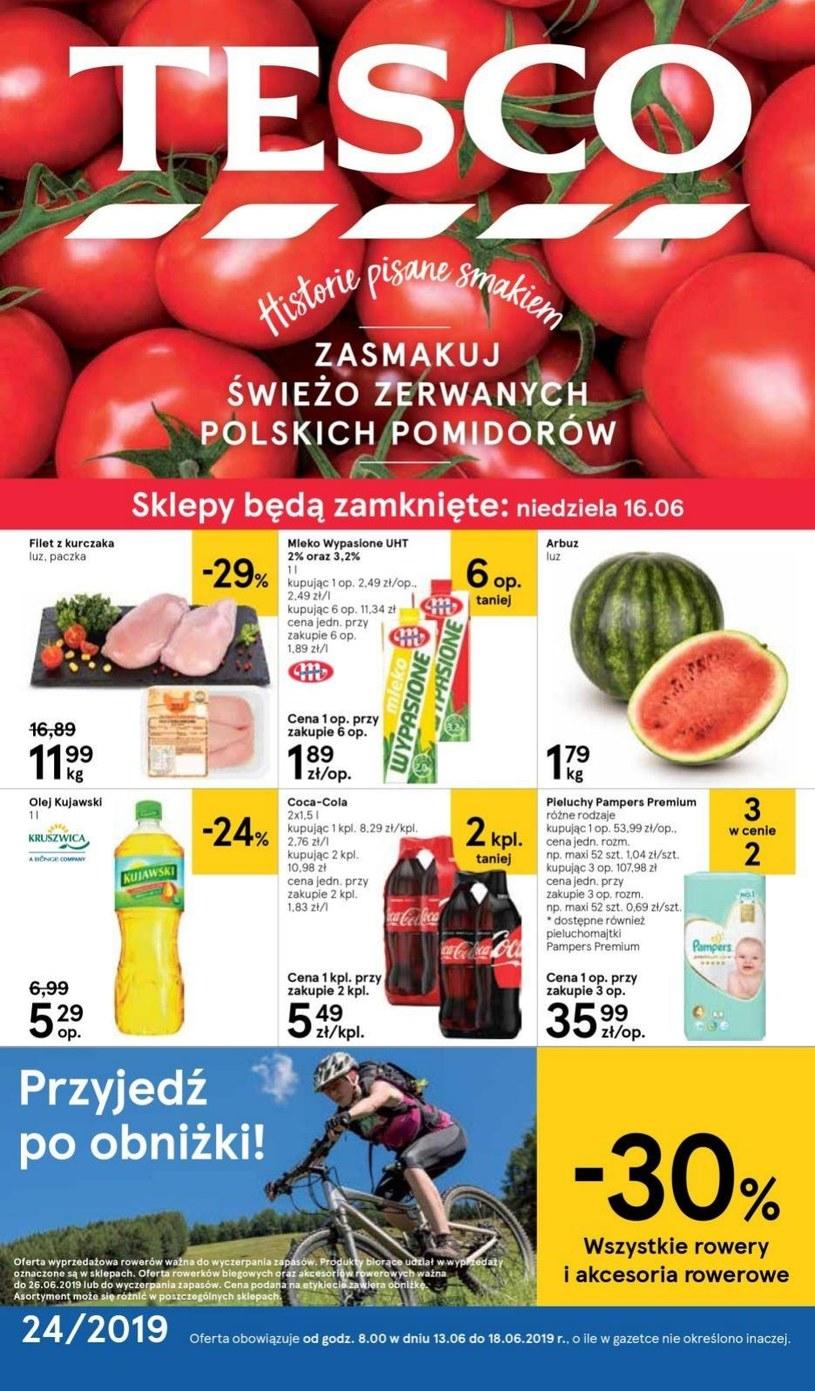 Gazetka promocyjna Tesco Hipermarket - ważna od 13. 06. 2019 do 18. 06. 2019