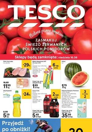 Gazetka promocyjna Tesco, ważna od 13.06.2019 do 18.06.2019.