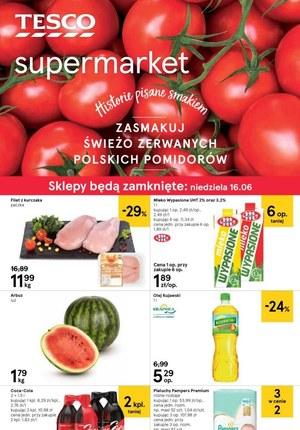 Gazetka promocyjna Tesco Supermarket, ważna od 13.06.2019 do 18.06.2019.