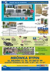 Gazetka promocyjna PSB Mrówka, ważna od 01.06.2019 do 20.07.2019.
