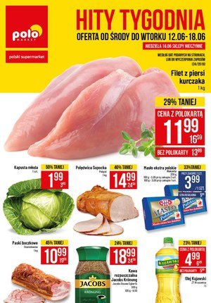 Gazetka promocyjna POLOmarket, ważna od 12.06.2019 do 18.06.2019.