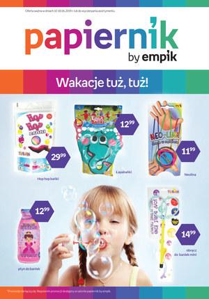 Gazetka promocyjna Papiernik by Empik, ważna od 10.06.2019 do 18.06.2019.