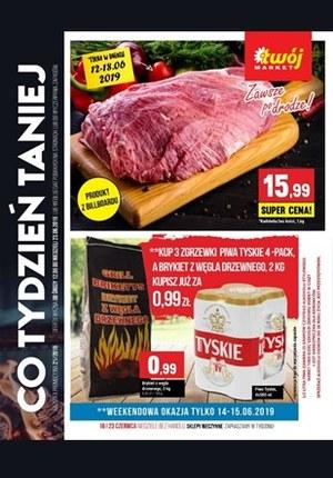 Gazetka promocyjna Twój Market, ważna od 12.06.2019 do 23.06.2019.