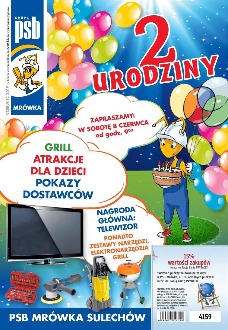 Gazetka promocyjna PSB Mrówka • Okazjum.pl • s.1 • 40801