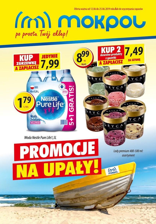 Gazetka promocyjna Mokpol - ważna od 12. 06. 2019 do 25. 06. 2019
