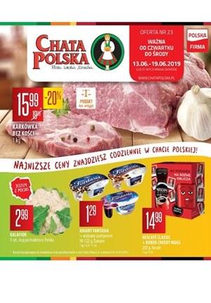 Gazetka promocyjna Chata Polska, ważna od 13.06.2019 do 19.06.2019.