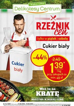 Gazetka promocyjna Delikatesy Centrum, ważna od 13.06.2019 do 18.06.2019.