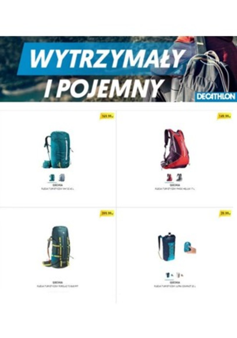 Decathlon: 3 gazetki