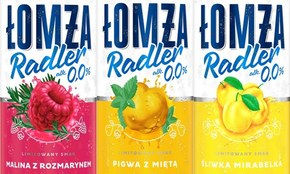 Łomża Radler z polskimi smakami