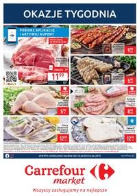 Gazetka promocyjna Carrefour Market, ważna od 18.06.2019 do 24.06.2019.