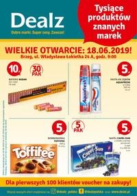 Gazetka promocyjna Dealz, ważna od 18.06.2019 do 03.07.2019.