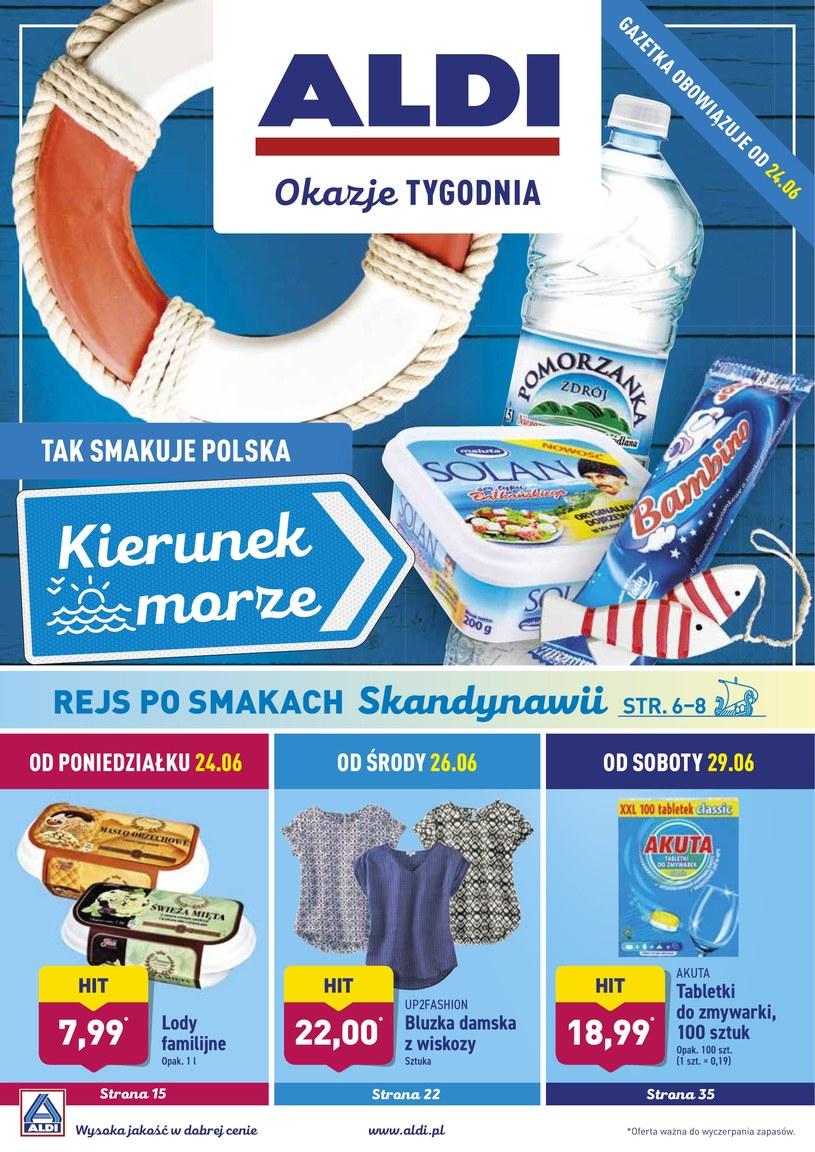 Gazetka promocyjna Aldi - ważna od 24. 06. 2019 do 30. 06. 2019