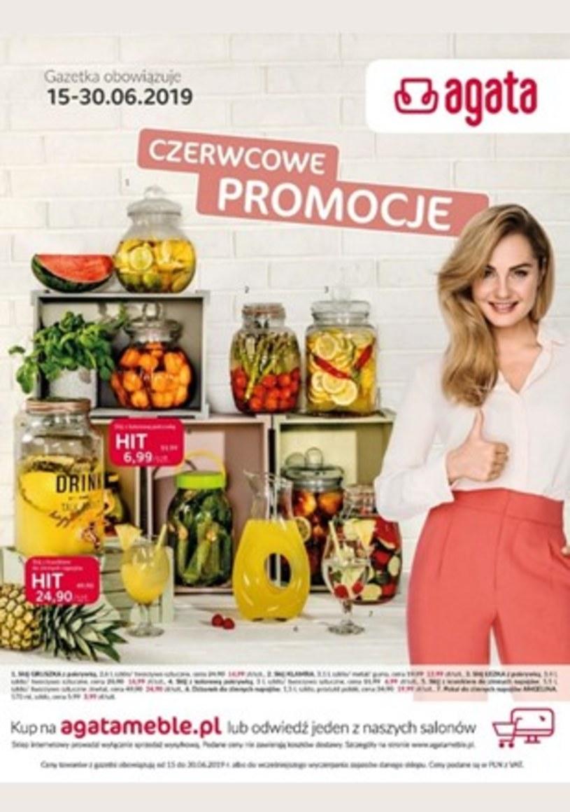 Gazetka promocyjna Agata  - ważna od 15. 06. 2019 do 30. 06. 2019