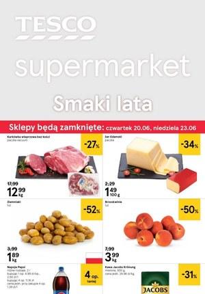 Gazetka promocyjna Tesco Supermarket, ważna od 19.06.2019 do 26.06.2019.