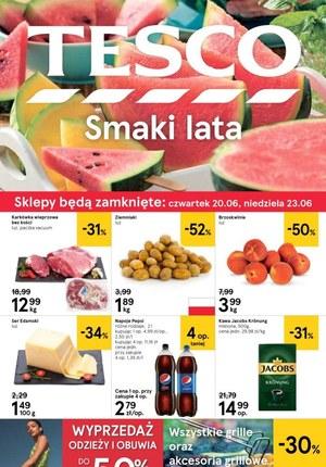 Gazetka promocyjna Tesco, ważna od 19.06.2019 do 26.06.2019.