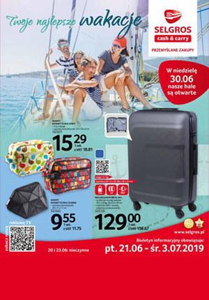 Gazetka promocyjna Selgros Cash&Carry, ważna od 21.06.2019 do 03.07.2019.
