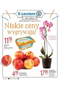 Gazetka promocyjna E.Leclerc, ważna od 17.06.2019 do 22.06.2019.