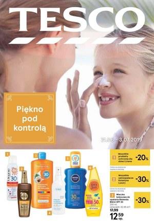 Gazetka promocyjna Tesco, ważna od 21.06.2019 do 03.07.2019.