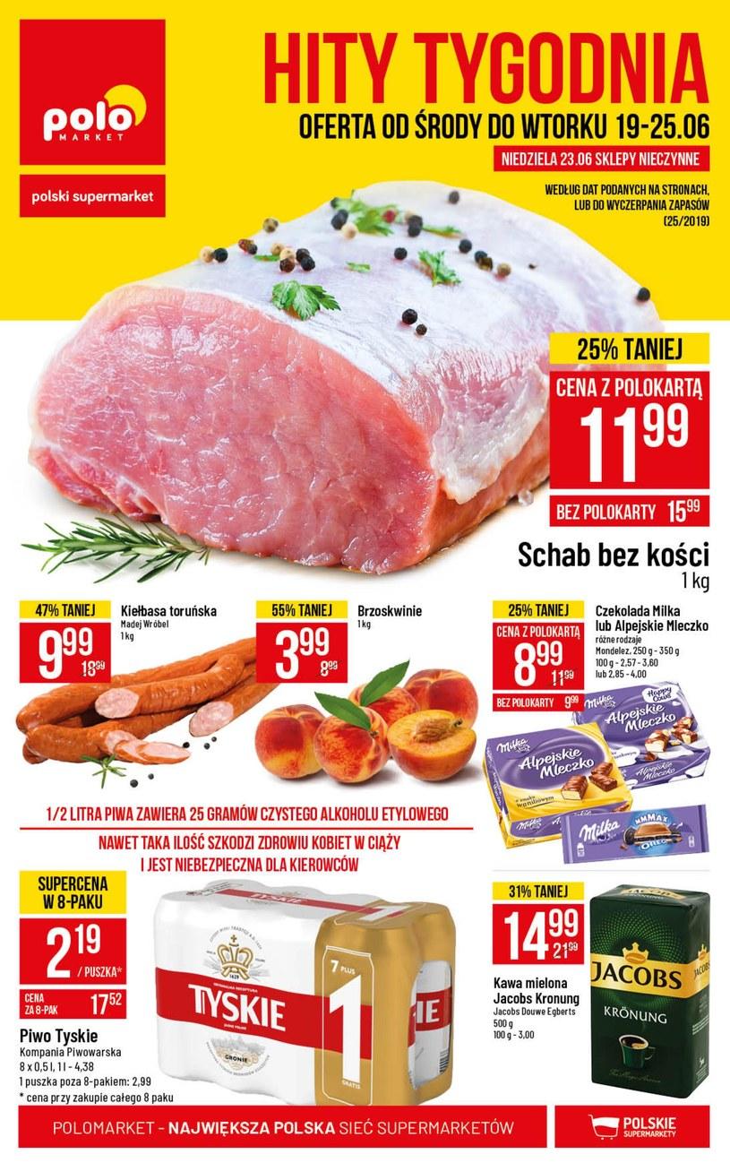 Gazetka promocyjna POLOmarket - ważna od 19. 06. 2019 do 25. 06. 2019