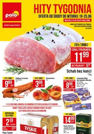 Gazetka promocyjna POLOmarket, ważna od 19.06.2019 do 25.06.2019.