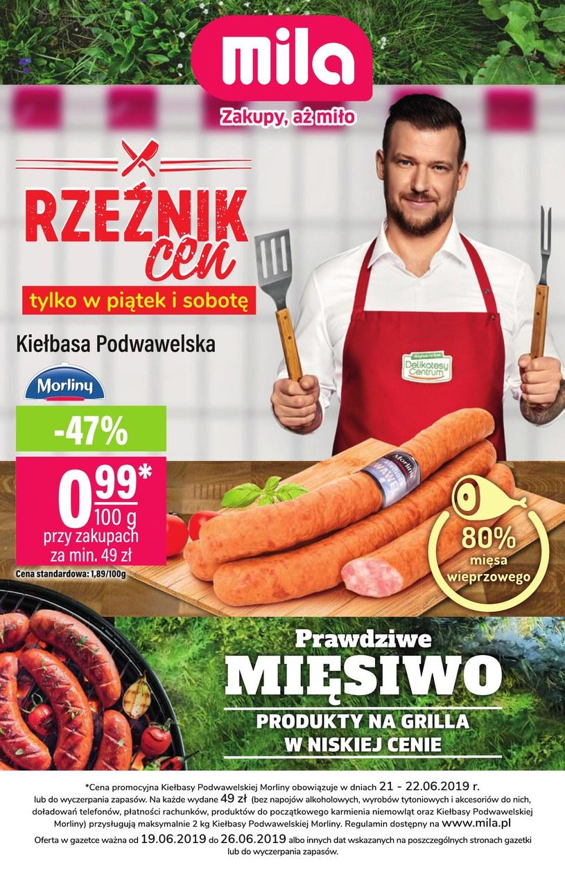 Gazetka promocyjna MILA - ważna od 19. 06. 2019 do 26. 06. 2019