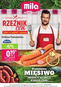 Gazetka promocyjna MILA, ważna od 19.06.2019 do 26.06.2019.