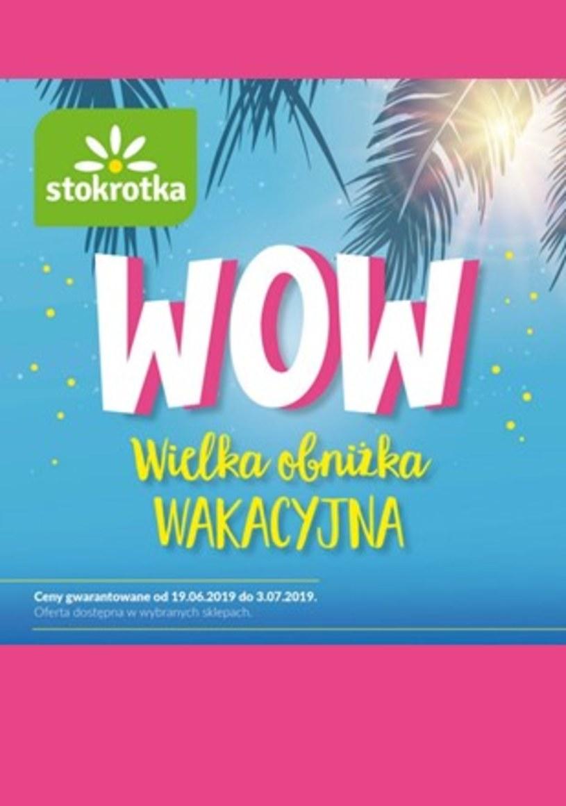 Gazetka promocyjna Stokrotka - ważna od 19. 06. 2019 do 03. 07. 2019