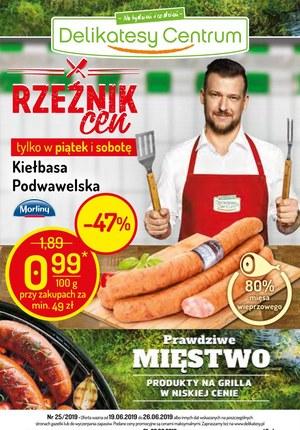 Gazetka promocyjna Delikatesy Centrum, ważna od 19.06.2019 do 26.06.2019.