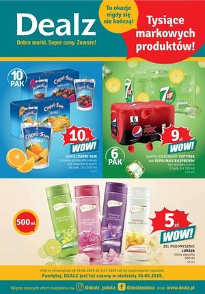 Gazetka promocyjna Dealz, ważna od 19.06.2019 do 30.06.2019.