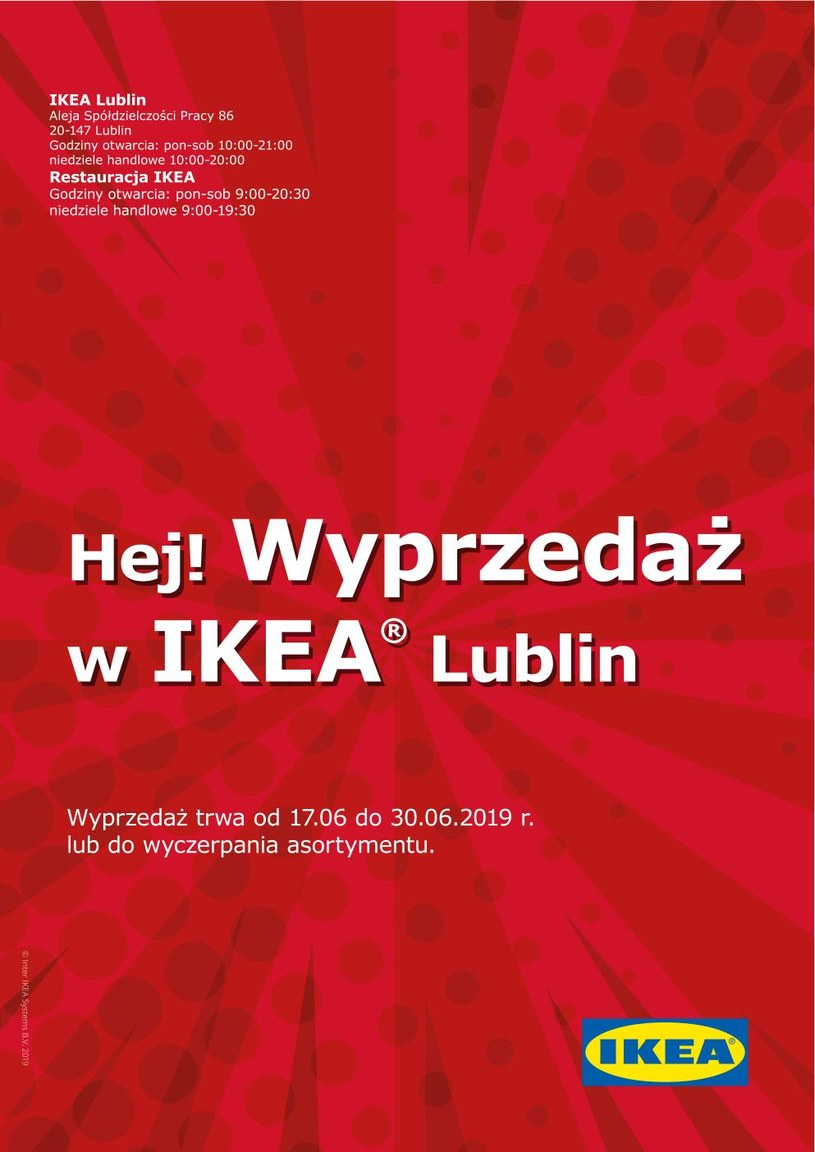 Gazetka promocyjna IKEA - ważna od 17. 06. 2019 do 30. 06. 2019