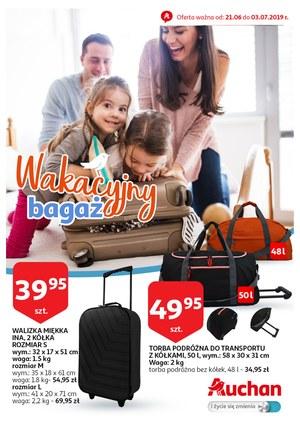 Gazetka promocyjna Auchan, ważna od 21.06.2019 do 03.07.2019.