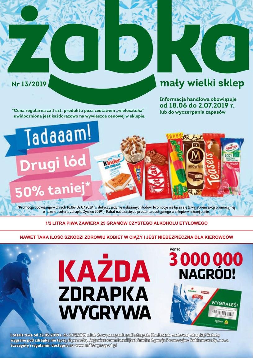 Gazetka promocyjna Żabka - ważna od 18. 06. 2019 do 02. 07. 2019