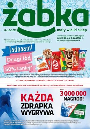 Gazetka promocyjna Żabka, ważna od 18.06.2019 do 02.07.2019.