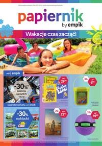 Gazetka promocyjna Papiernik by Empik, ważna od 19.06.2019 do 02.07.2019.