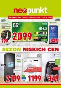 Gazetka promocyjna NEOPUNKT, ważna od 19.06.2019 do 03.07.2019.