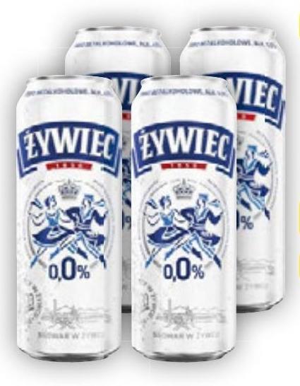Piwo Żywiec 0,0% niska cena
