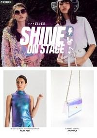 Gazetka promocyjna Cropp Town - Shine on stage  - ważna do 19-07-2019