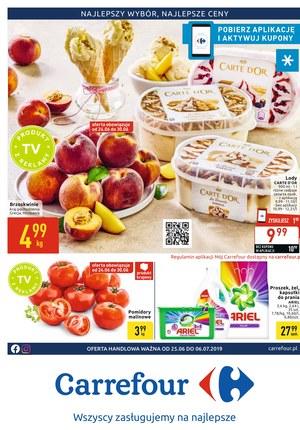 Gazetka promocyjna Carrefour, ważna od 25.06.2019 do 06.07.2019.