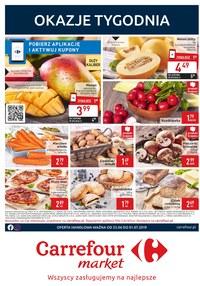 Gazetka promocyjna Carrefour Market, ważna od 25.06.2019 do 01.07.2019.