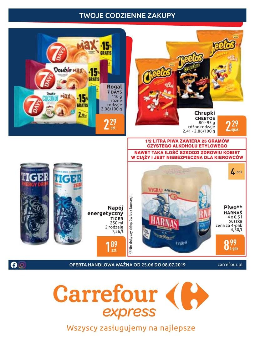 Gazetka promocyjna Carrefour Express - ważna od 25. 06. 2019 do 08. 07. 2019