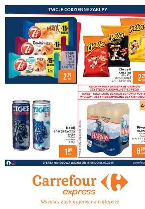 Gazetka promocyjna Carrefour Express, ważna od 25.06.2019 do 08.07.2019.