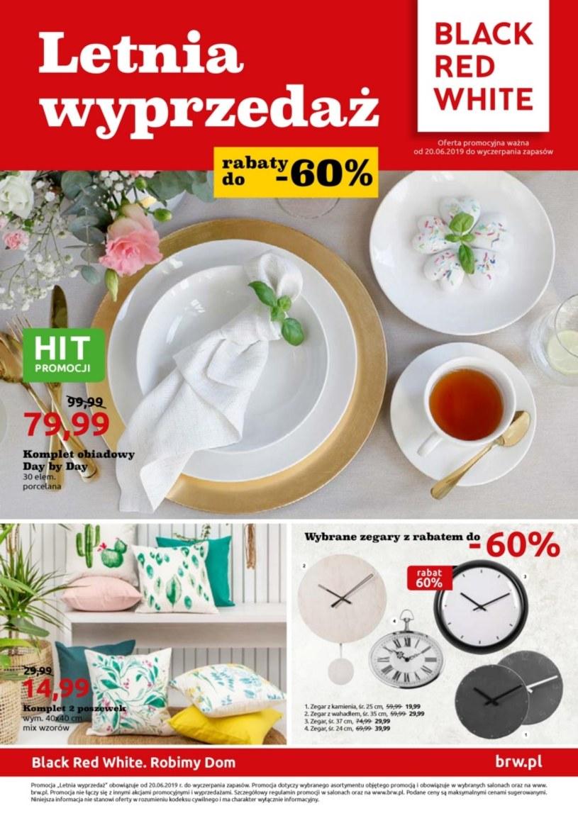 Gazetka promocyjna Black Red White - ważna od 20. 06. 2019 do 31. 07. 2019
