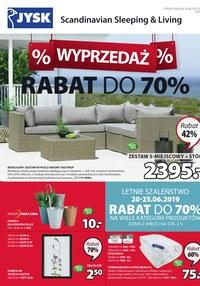 Gazetka promocyjna Jysk, ważna od 20.06.2019 do 03.07.2019.
