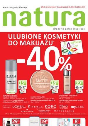 Gazetka promocyjna Drogerie Natura, ważna od 20.06.2019 do 03.07.2019.